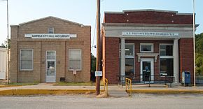 Post office city hall library garfield kansas 2009.jpg
