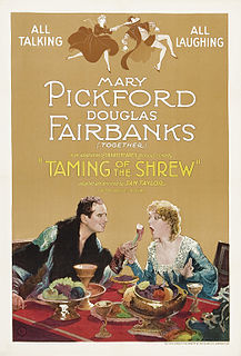 <i>The Taming of the Shrew</i> (1929 film) 1929 film