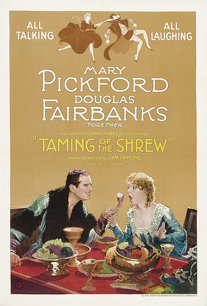 File:Poster - Taming of the Shrew, The (1929) 01.jpg