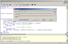 Screenshot of PowerBasic for Windows 9.0.