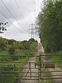 Power lines at Pound Bottom - geograph.org.uk - 176361.jpg