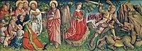 Prédication de Jean-Baptiste et Combat de saint Georges.jpg