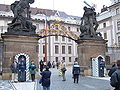 Prague Castle first courtyard 5.JPG