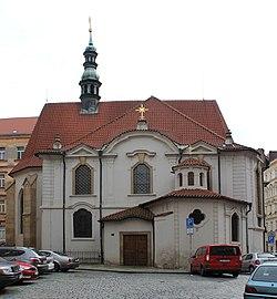 Výsledek obrázku pro sv. Vojtěch Praha Nové město