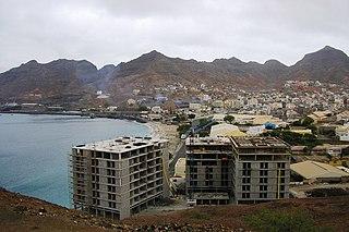 Matiota Neighbourhood in Mindelo, São Vicente Island, Cape Verde