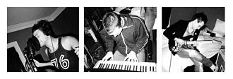 Plus One (band) - The New Plus One recording their new sound in 2003