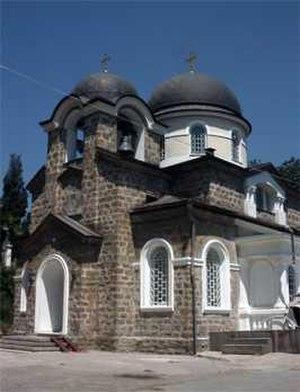 Khosta Microdistrict - The Transfiguration Church in Khosta