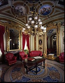 Ornate room.