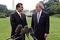 President George W. Bush and Pakistani Prime Minister Syed Yousaf Raza Gillani.jpg