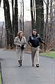 President Ronald Reagan Walking with Prime Minister Margaret Thatcher at Camp David.jpg