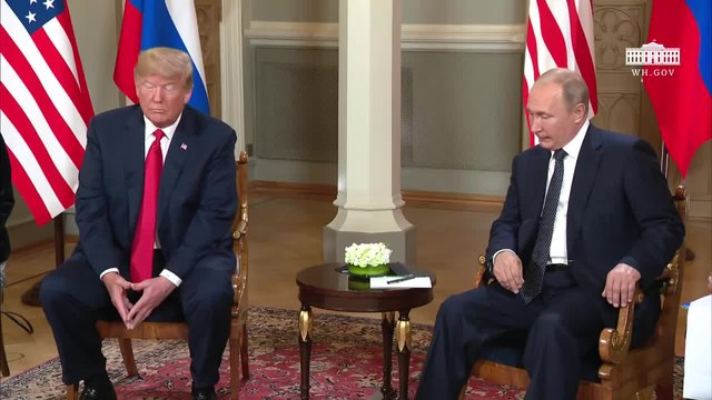 Файл:President Trump has a Bilateral Meeting with the President of the Russian Federation.webm
