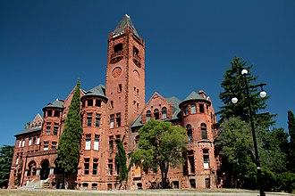 Preston School of Industry - Preston Castle in Ione, California, built in the latter half of the 19th century.