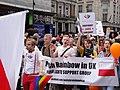 Pride London 2012 Polish rainbow.jpg