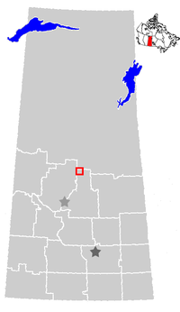 Prince Albert, Saskatchewan Location.png