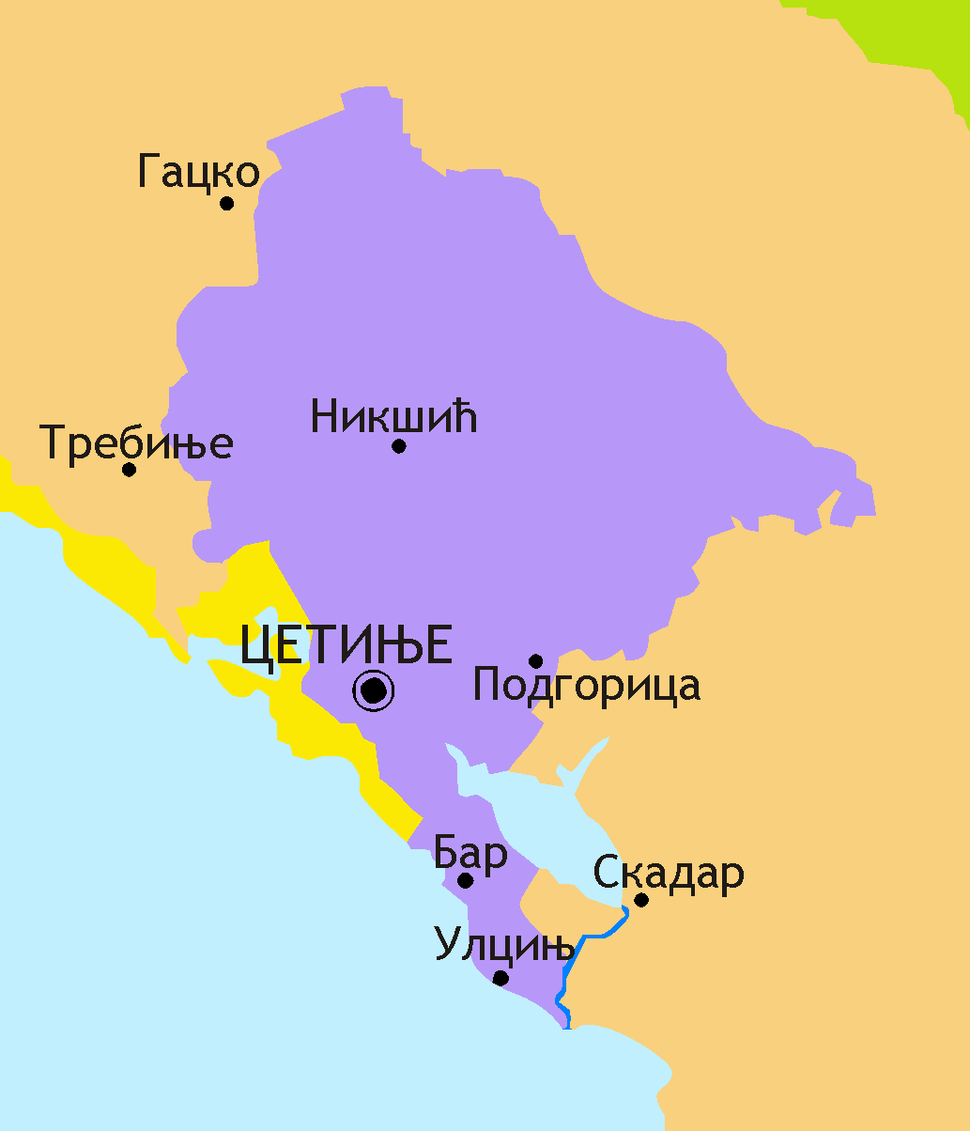 Princedom of Montenegro after 1878