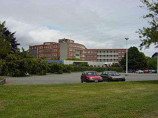 Princess Margaret Hospital, Christchurch Hospital in Canterbury Region, New Zealand