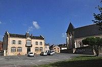 Prissac (Indre) - Place du 8 mai.jpg