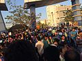 Pro-Jallikattu protesters gathering at Chennai SEZ ELCOT, IT Park, Sholinganallur, IN (8).jpg