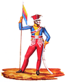 Project of uniform of Gran Colombia 1824 by Filip Maurycy Marcinkowski.PNG