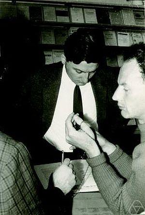 Frank Adams - Frank Adams (right) with Dieter Puppe in 1962 in Aarhus