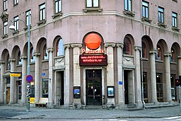 Teatern Pustervik er det som mest minder om Göteborgs mindste bydel.