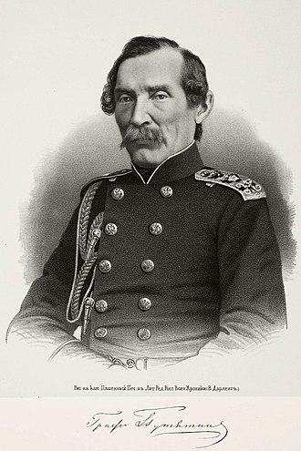 Yevfimiy Putyatin - Admiral Yevfimiy Putyatin