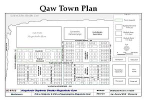 Bandar Siyada - Town plan for Bandar Siyada (Qaw).