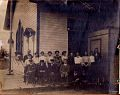 Qu'Appelle High School class circa 1902 outside then-Presbyterian church.jpg