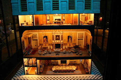 Queen Mary's doll house at Windsor Castle