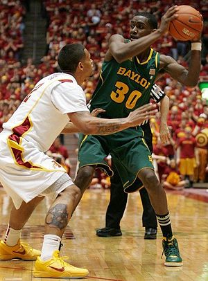 Quincy Miller - Miller playing for the Baylor Bears