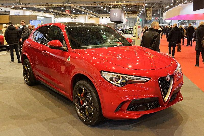 File:Rétromobile 2018 - Alfa Romeo Stelvio Quadrifoglio - 002.jpg