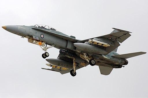 RAAF Hornet Zhu-7