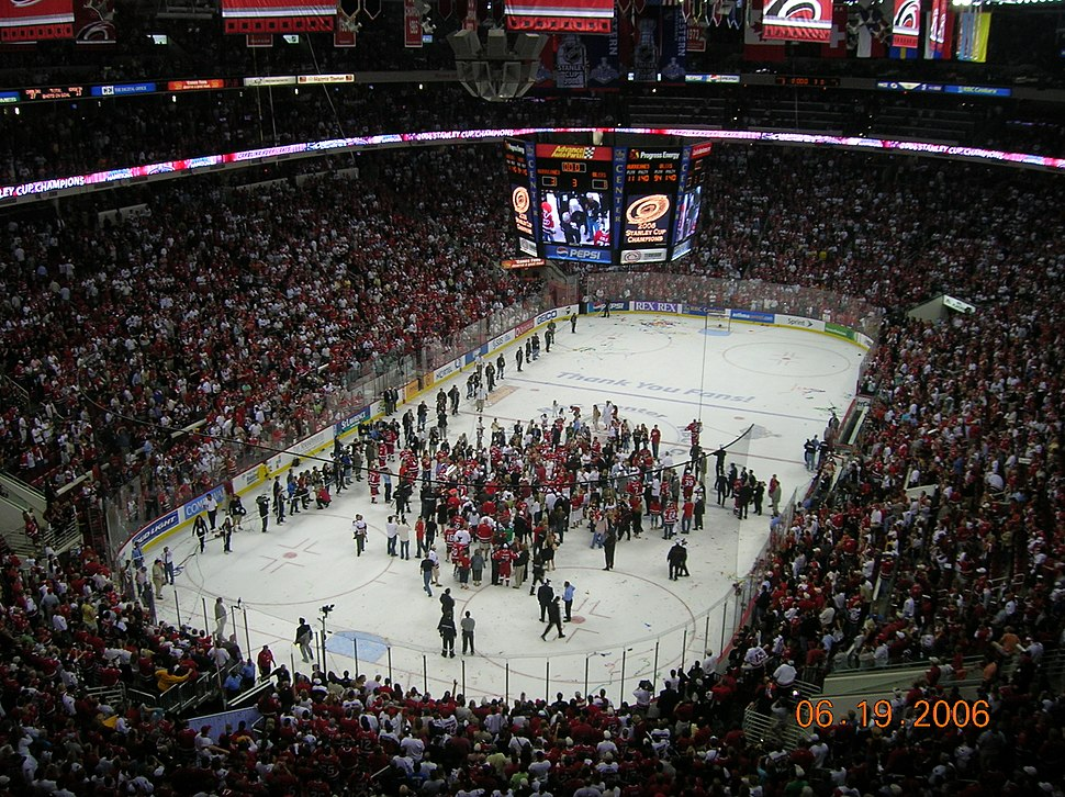 RBC Center Stanley Cup Championship