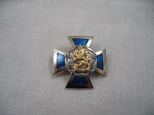 Reserve Officer School (Finland) - The badge of Reserve Officer Course