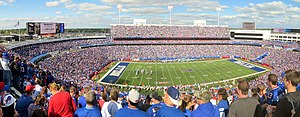 New Era Field - New Era Field (then known as Ralph Wilson Stadium) panorama, September 2014.