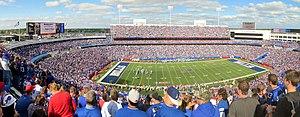 New Era Field - New Era Field (then known as Ralph Wilson Stadium) panorama, September 2014.