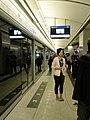 Rachel Li at Sai Ying Pun Station 20150329.jpg