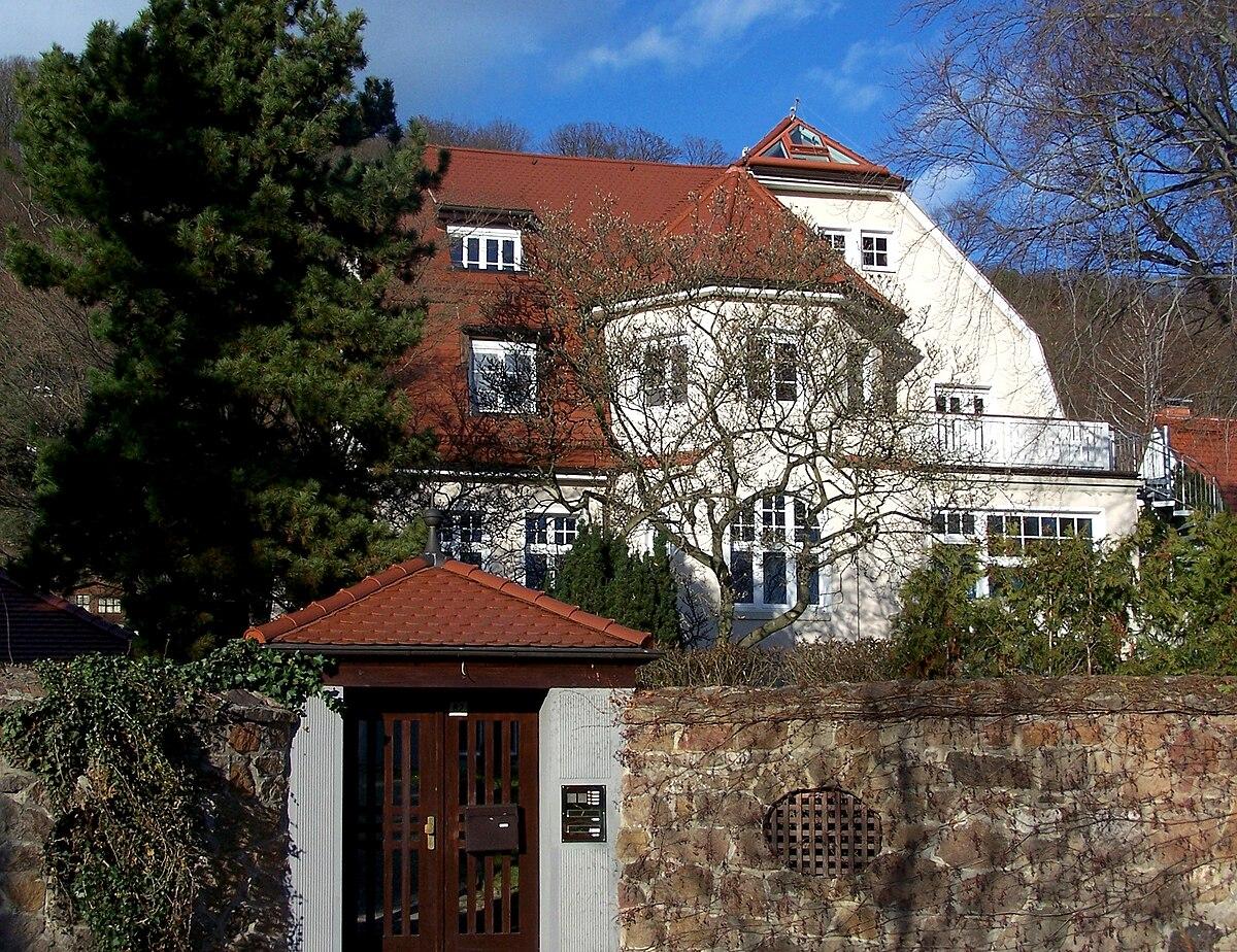 Landhaus kurt albrecht wikipedia - Architekt radebeul ...