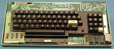 Tandy/RadioShack TRS-80 Model I ALPS Keyboard PCB Radio Shack Tandy TRS-80 Model I Keyboard.JPG