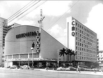 Cinerama - Radiocentro CMQ Building. Havana, Cuba.