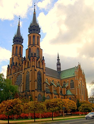 Religion in Poland - St. Mary's Cathedral in Radom.
