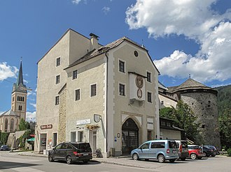 Radstadt - Styrian Gate and Capuchin Tower