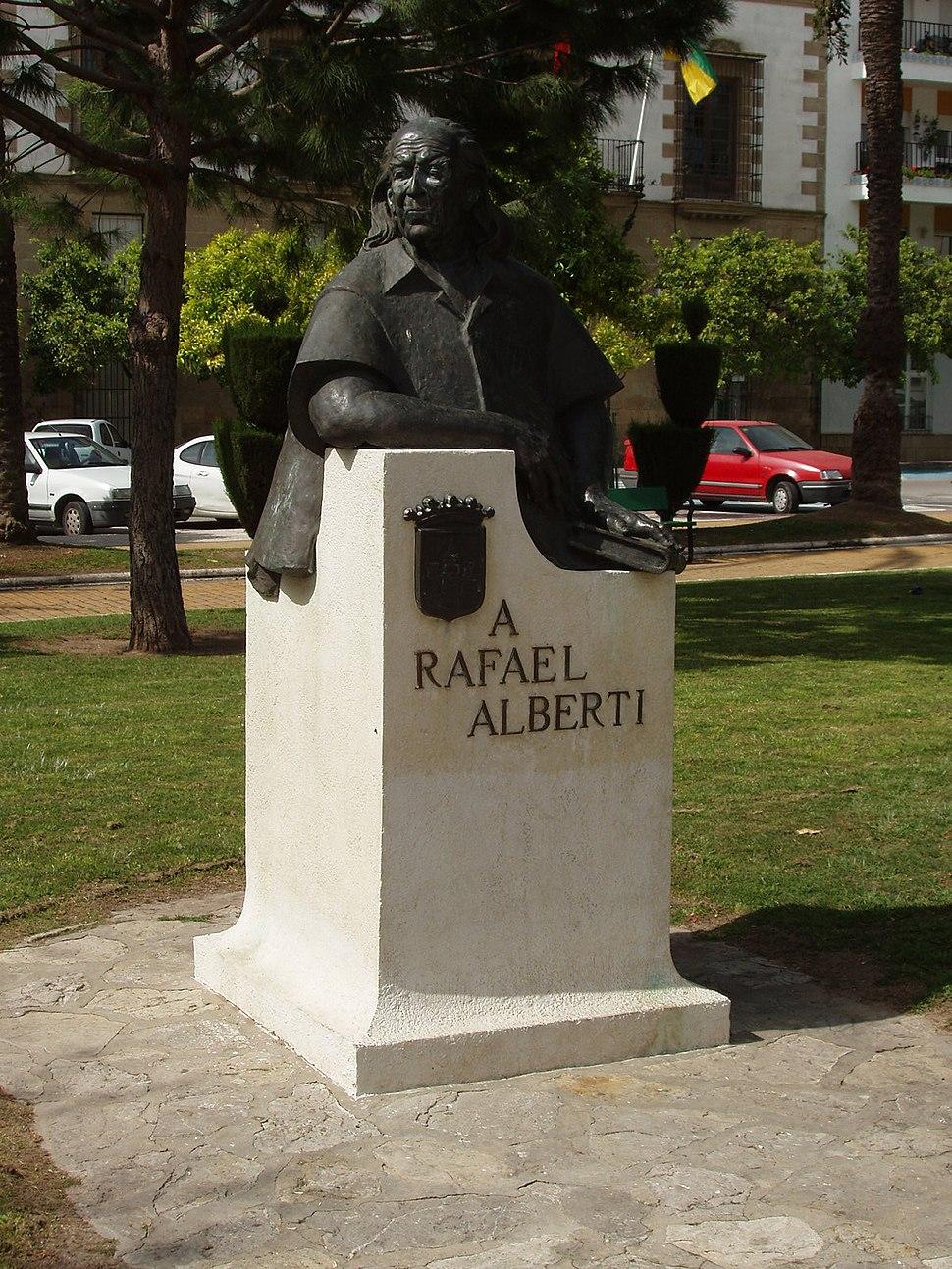 Rafael Alberti monumento