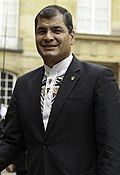 Rafael Correa in Paris, Palais du Luxembourg 03.jpg