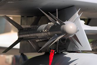 Python (missile) - A Python 4 missile under the wing F-15D Baz '957'