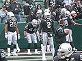 Raiders warming up pregame at New England at Oakland 12-14-08.JPG