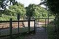 Railway crossing on bridleway - geograph.org.uk - 856953.jpg