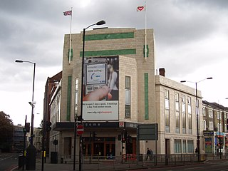 former cinema and music venue in London, England, later used as a church