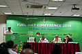 Raiomond Doctor, Vijay P. Bhatkar, Arun Nigavekar and K P Mohanan at FUEL GILT Conference 2014, Pune.JPG