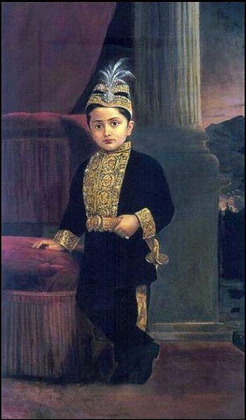 File:Raja Ravi Varma, Prince Fateh Singh Rao.jpg